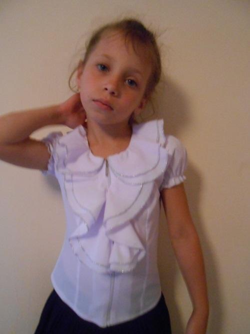 Блузка Детская Школьная В Новосибирске
