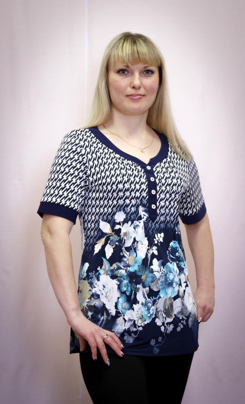 Блузки больших размеров в москве